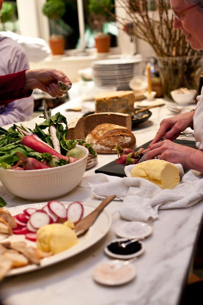 Catering food spread from Occasions Caterers - Sustainable catering options for events in Washington, DC