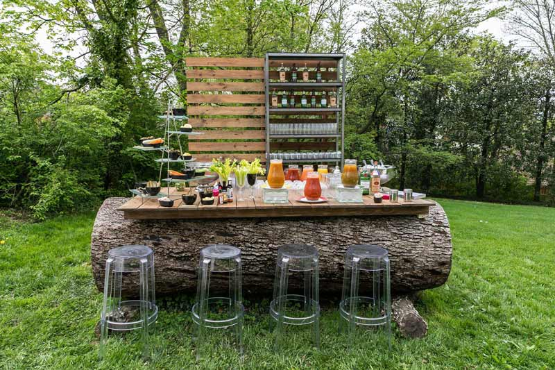 Bar from Design Cuisine - Eco-friendly catering options in the Washington, DC region