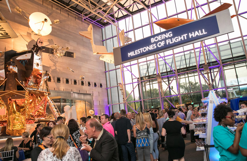 Evening Event at National Air and Space Museum - Unique Meeting Venue in Washington, DC