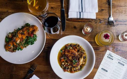 Dinner and drinks at City Winery - The best places to eat and drink in DC's Ivy City neighborhood