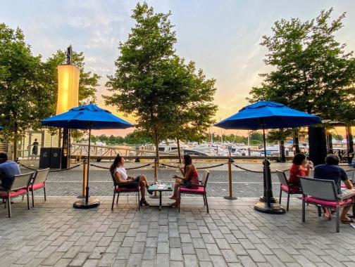 @thewharfdc - The Wharf DC Patio Dining