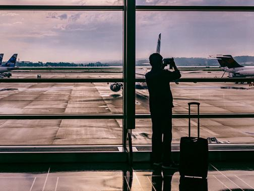 Tourist Taking Photo at Airport | Special Agent Academy