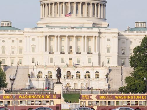 Explore group transportation options & more in Washington, DC