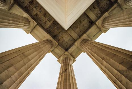 @elevenphotographs - lincoln memorial ceiling