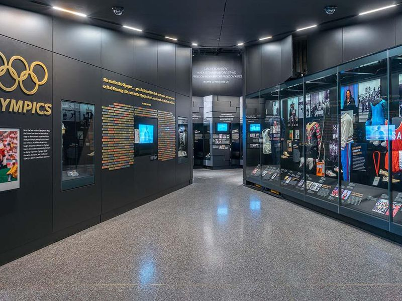 National Museum of African American History and Culture Sport Exhibit