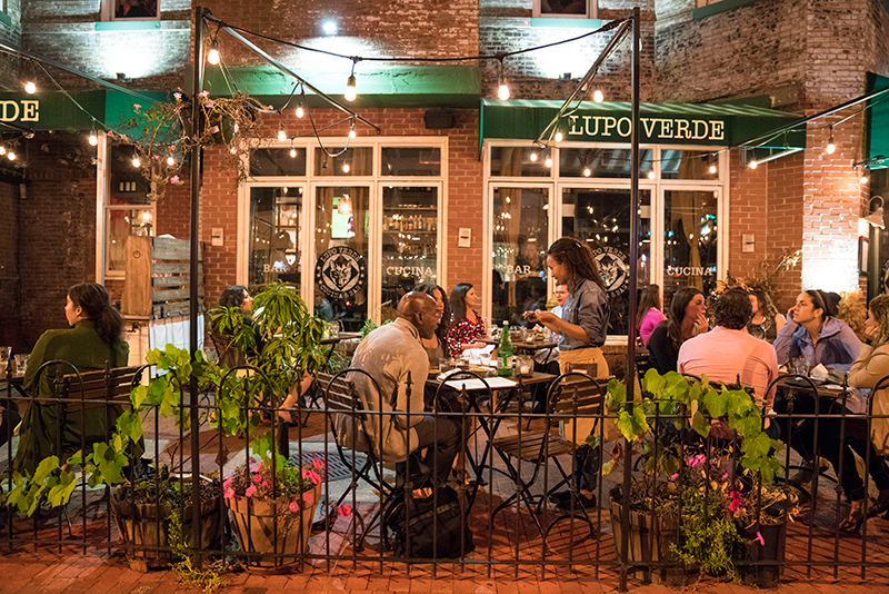 Lupo Verde 14th St Dining