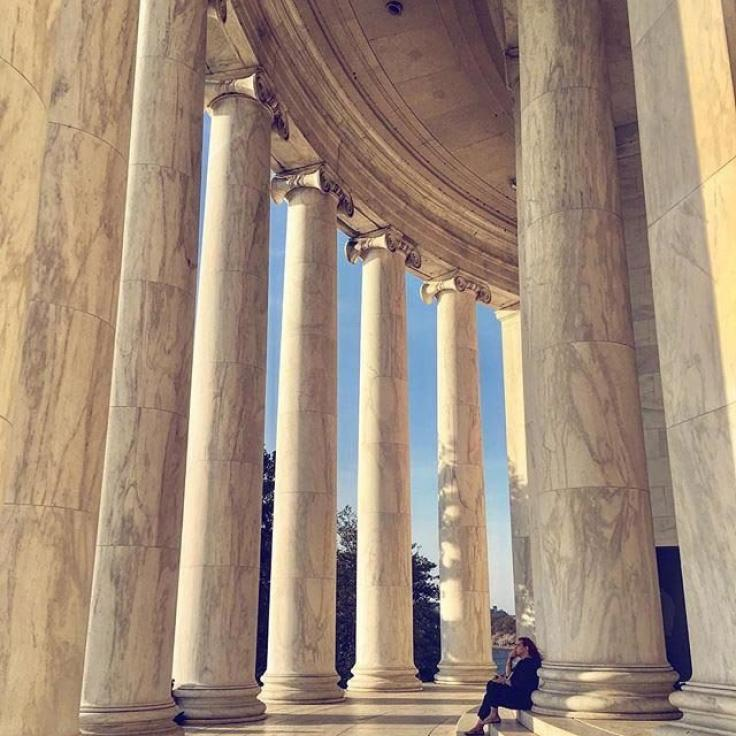 @anna_in_dc - Thomas Jefferson Memorial on the National Mall - Memorials in Washington, DC