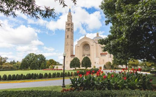 Basilica of the National Shrine of the Immaculate Conception in Brookland - Landmarks in Washington, DC