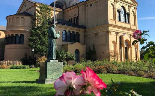 @lipps_trips - Gardens at the Franciscan Monastery of the Holy Land in America in Brookland, Washington, DC