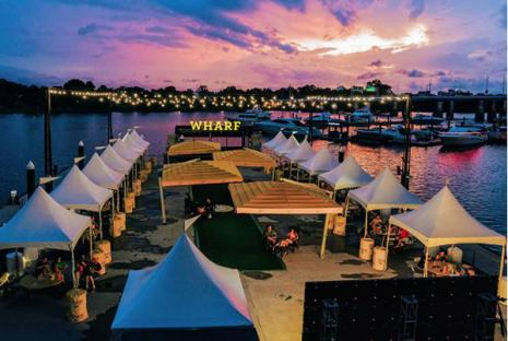 Sunset Cinema at The Wharf in DC